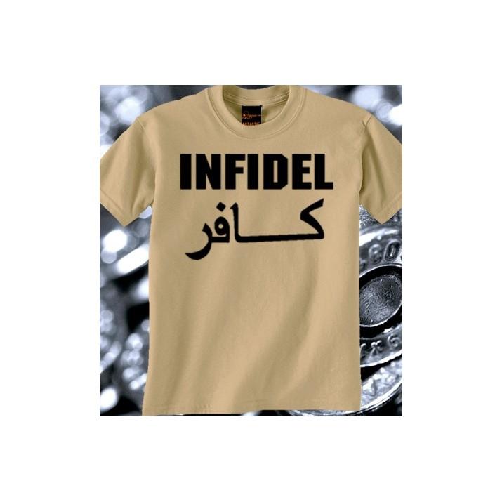 Camiseta Infidel Grande TAN/Árida