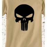 Camiseta Punisher TAN/Árida