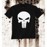 Camiseta Punisher Negra