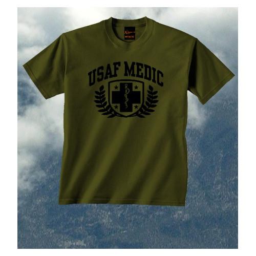 Camiseta USAF Medic Olive Drab