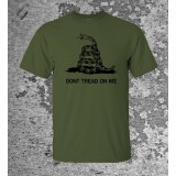 Camiseta Don't Tread On Me Olive Drab
