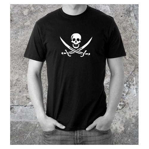 Black Calico Jack t-shirt