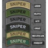 Sniper Shoulder Tab Patch en différentes teintes