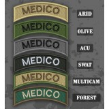 Medico Shoulder Tab Patch in different color variants