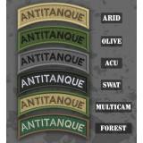 Antichar / Antitanque Shoulder Tab Patch en différentes teintes