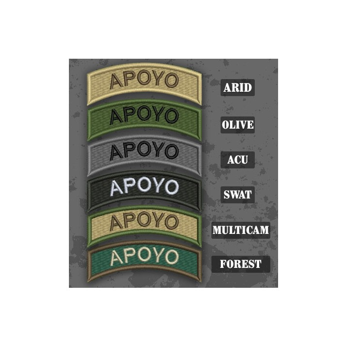 Parche / Ribo de brazo de Apoyo en varias tonalidades