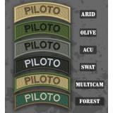 Parche / Ribo de brazo de Piloto en varias tonalidades