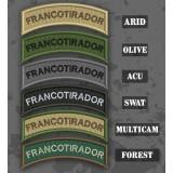 Parche / Ribo de brazo de Francotirador en varias tonalidades