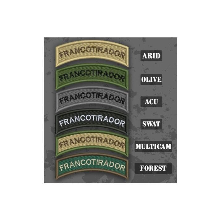 Sniper / Francotirador Shoulder Tab Patch en différentes teintes