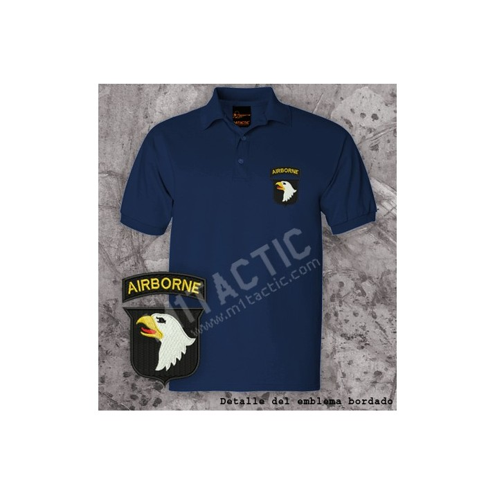 Polo 101st Airborne Navy