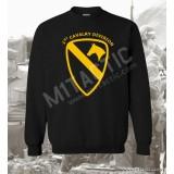 Sudadera 1st Cavalry Division Mod. 2 Negra