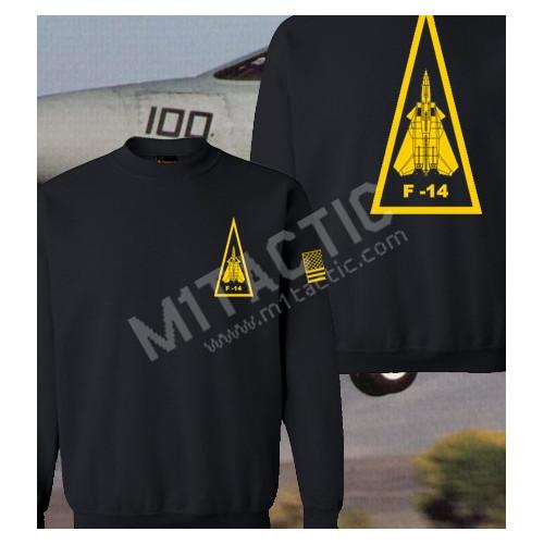 Sudadera F-14 Negra