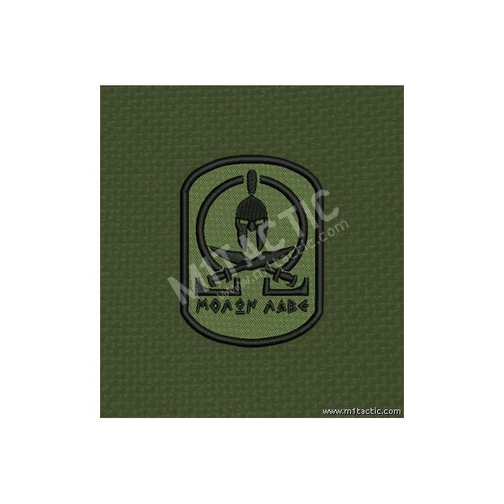 Parche Molon labe Olive Drab