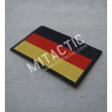 Embroidered German flag patch