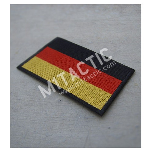 Patch/Drapeau brodé d'Allemagne
