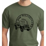 Tshirt Jeep Willys MB - Since 1941